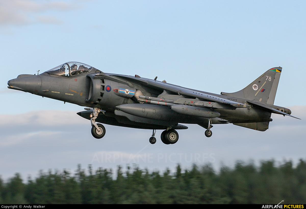 Royal Air Force ZG507 aircraft at Kinloss