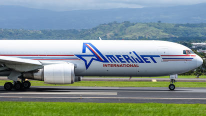 N373CM - Amerijet International Boeing 767-300F