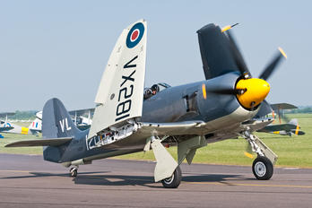 "G-RNHF - Royal Navy ""Historic Flight"" Hawker Sea Fury T.20"