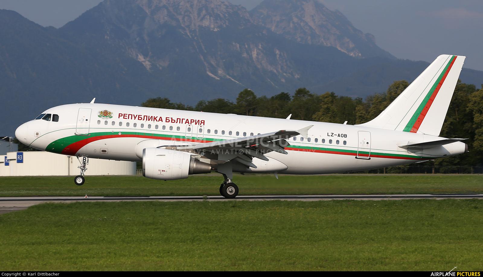 Bulgaria - Government LZ-BOA aircraft at Salzburg