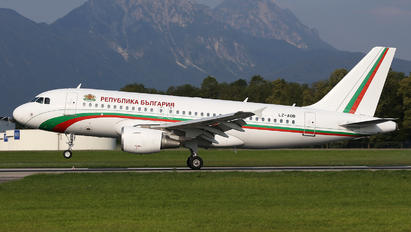 LZ-BOA - Bulgaria - Government Airbus A319
