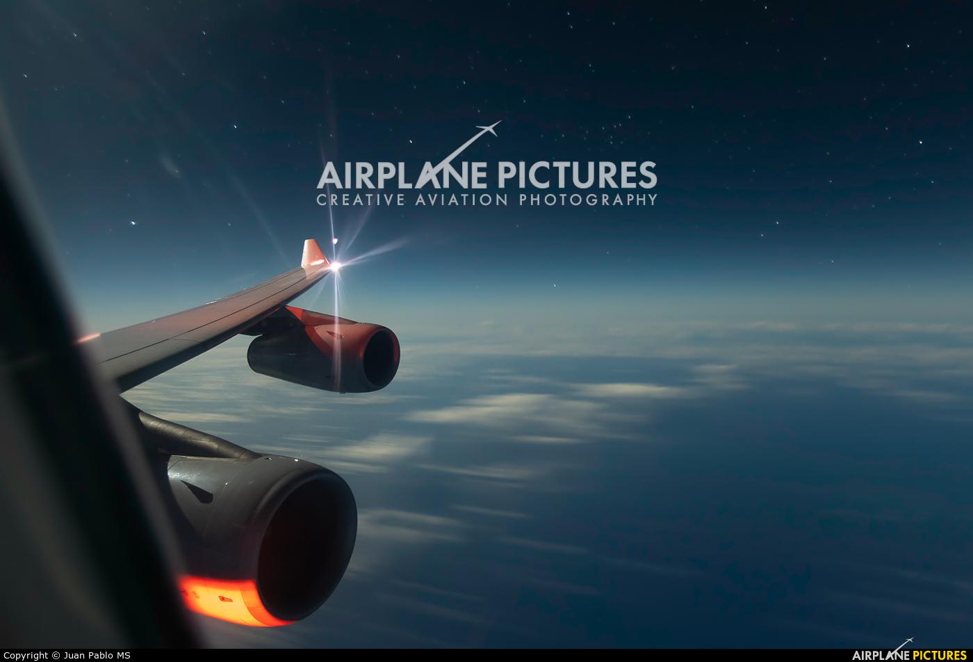 Lufthansa D-AIGW aircraft at In Flight - Panama