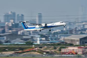 JA846A - ANA Wings de Havilland Canada DHC-8-400Q / Bombardier Q400