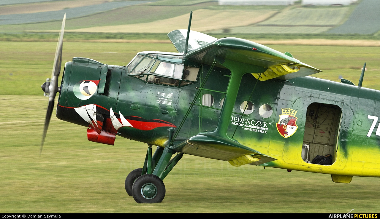 Private SP-MLP aircraft at Kraków - Pobiednik Wielki