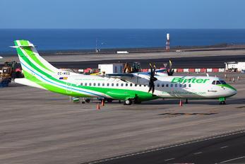 EC-MXQ - Binter Canarias ATR 72 (all models)