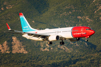 LN-NGE - Norwegian Air Shuttle Boeing 737-800