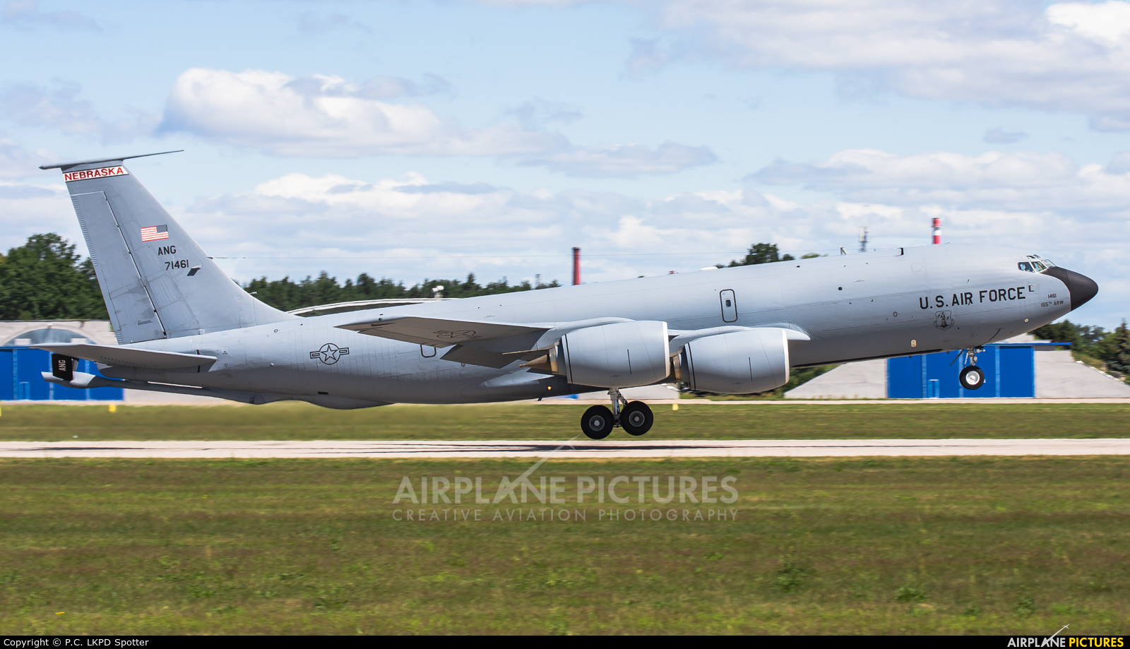 USA - Air Force 57-1461 aircraft at Pardubice