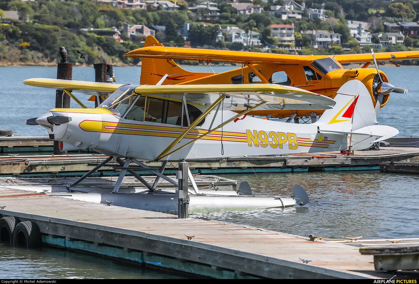 Private N93PB aircraft at Sausalito - Commodore Center Seaplane Base