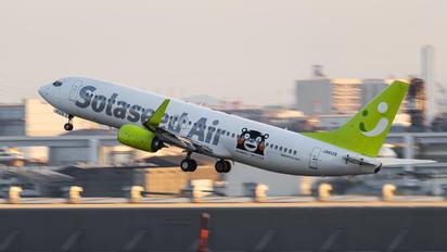 JA812X - Solaseed Air - Skynet Asia Airways Boeing 737-800