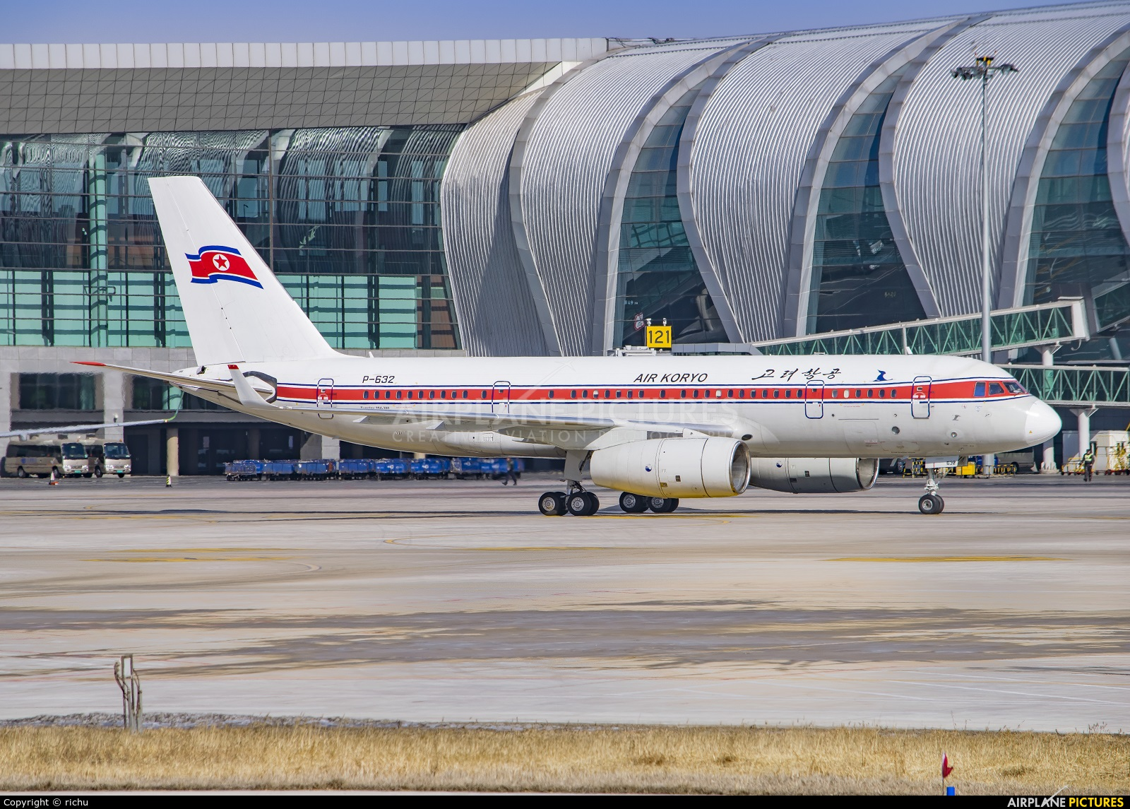 Air Koryo P-632 aircraft at Shenyang-Taoxian
