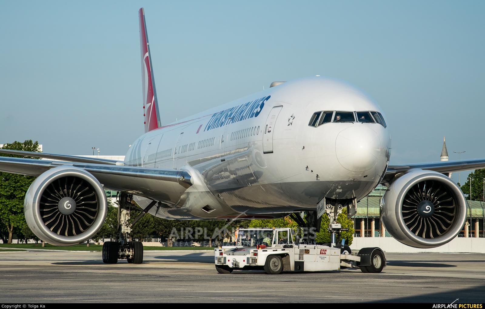 Turkish Airlines TC-LJI aircraft at Istanbul - Ataturk