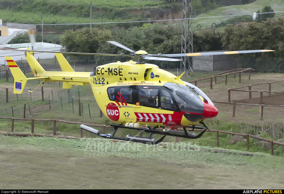 Servicio de Urgencias Canario. EC-MSE aircraft at In Flight - Spain