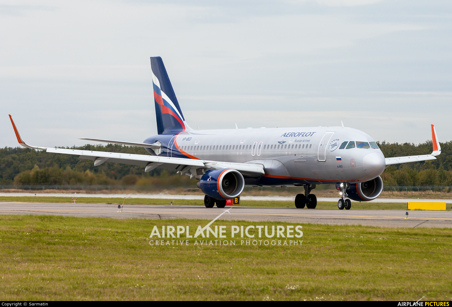 Aeroflot VP-BEO aircraft at Kazan