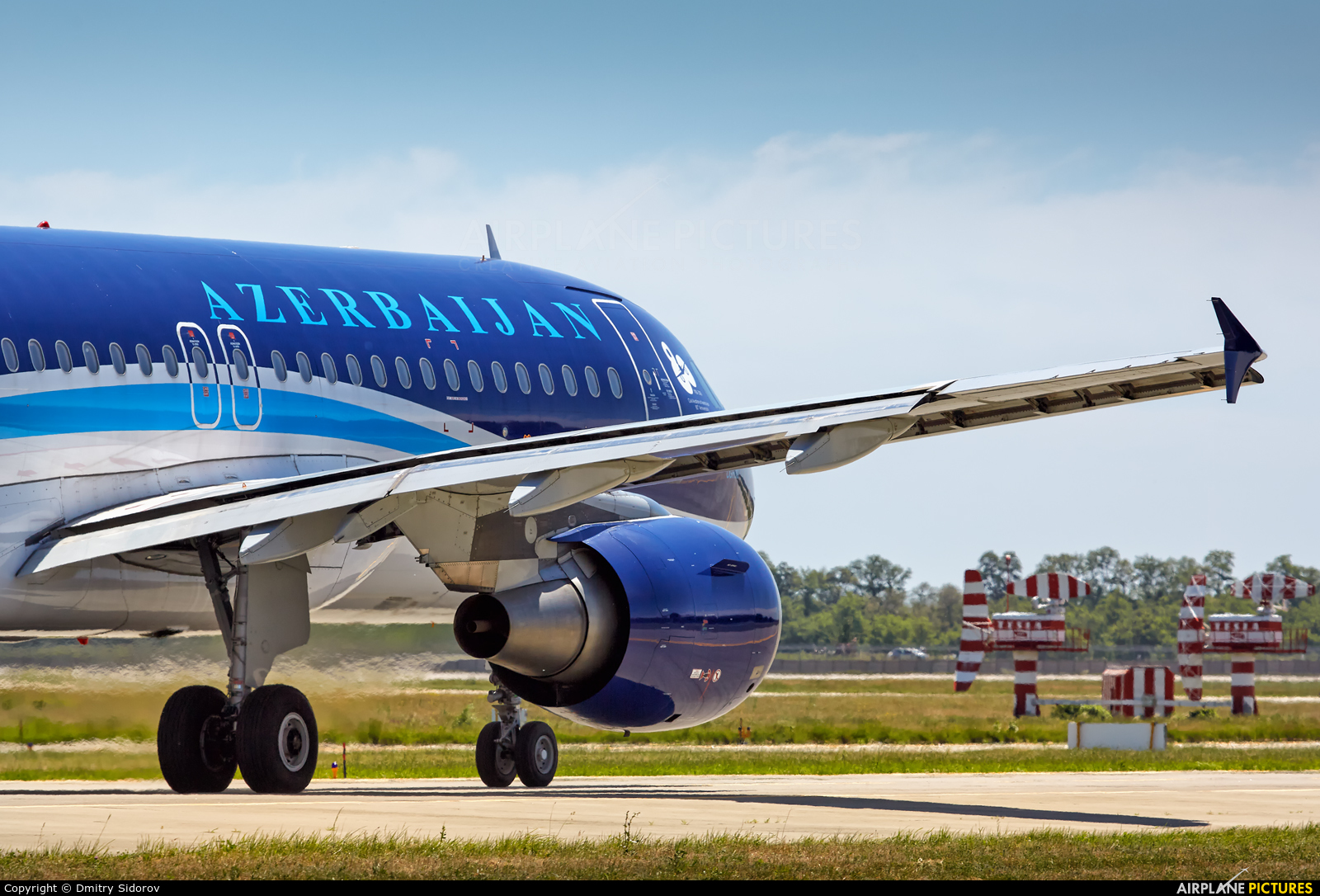 Azerbaijan Airlines 4K-AZ79 aircraft at Kiev - Borispol