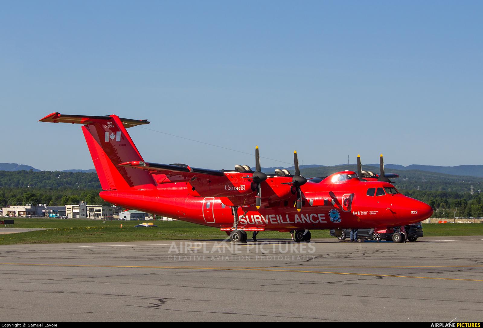 Canada - Dept of Transport C-GCFR aircraft at Québec - Jean Lesage Intl