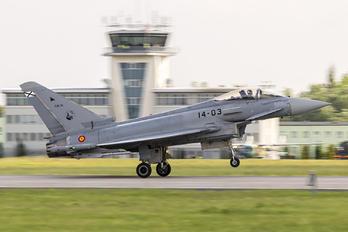 14-03 - Spain - Air Force Eurofighter Typhoon