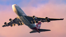VH-OEI - QANTAS Boeing 747-400ER aircraft