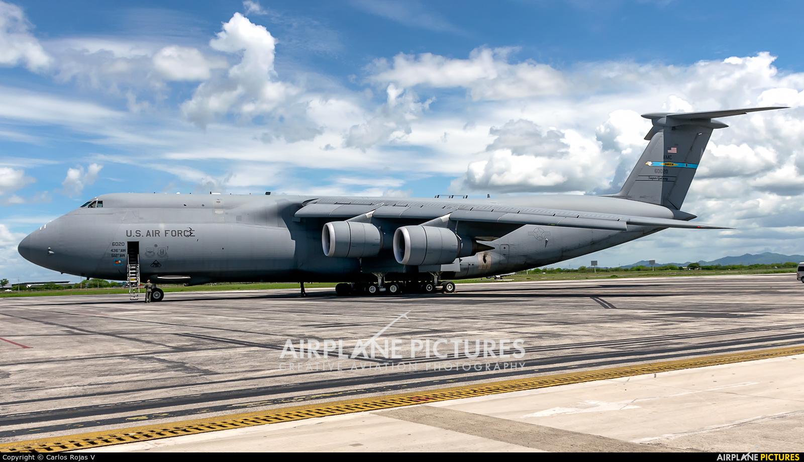 USA - Air Force 86-0020 aircraft at Liberia- Daniel Oduber Quirós Intl