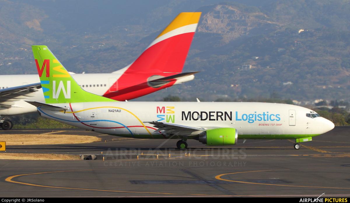 Modern Logistics N421AU aircraft at San Jose - Juan Santamaría Intl