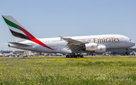 A6-EDY - Emirates Airlines Airbus A380 aircraft