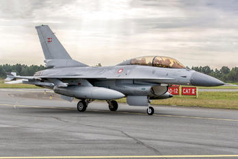 ET 612 - Denmark - Air Force General Dynamics F-16B Block 15H