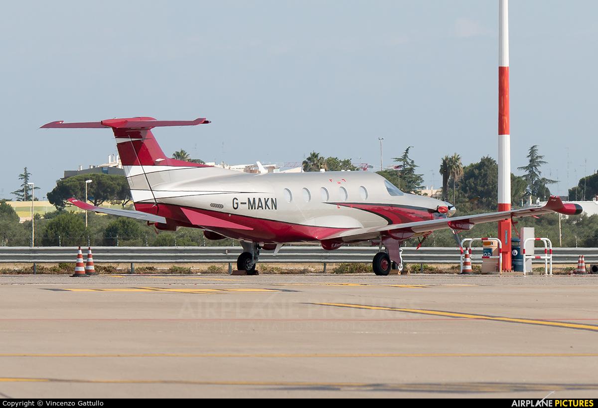 Private G-MAKN aircraft at Bari