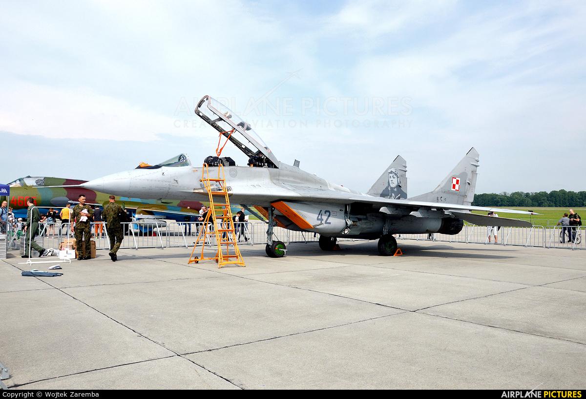 Poland - Air Force 42 aircraft at Mińsk Mazowiecki