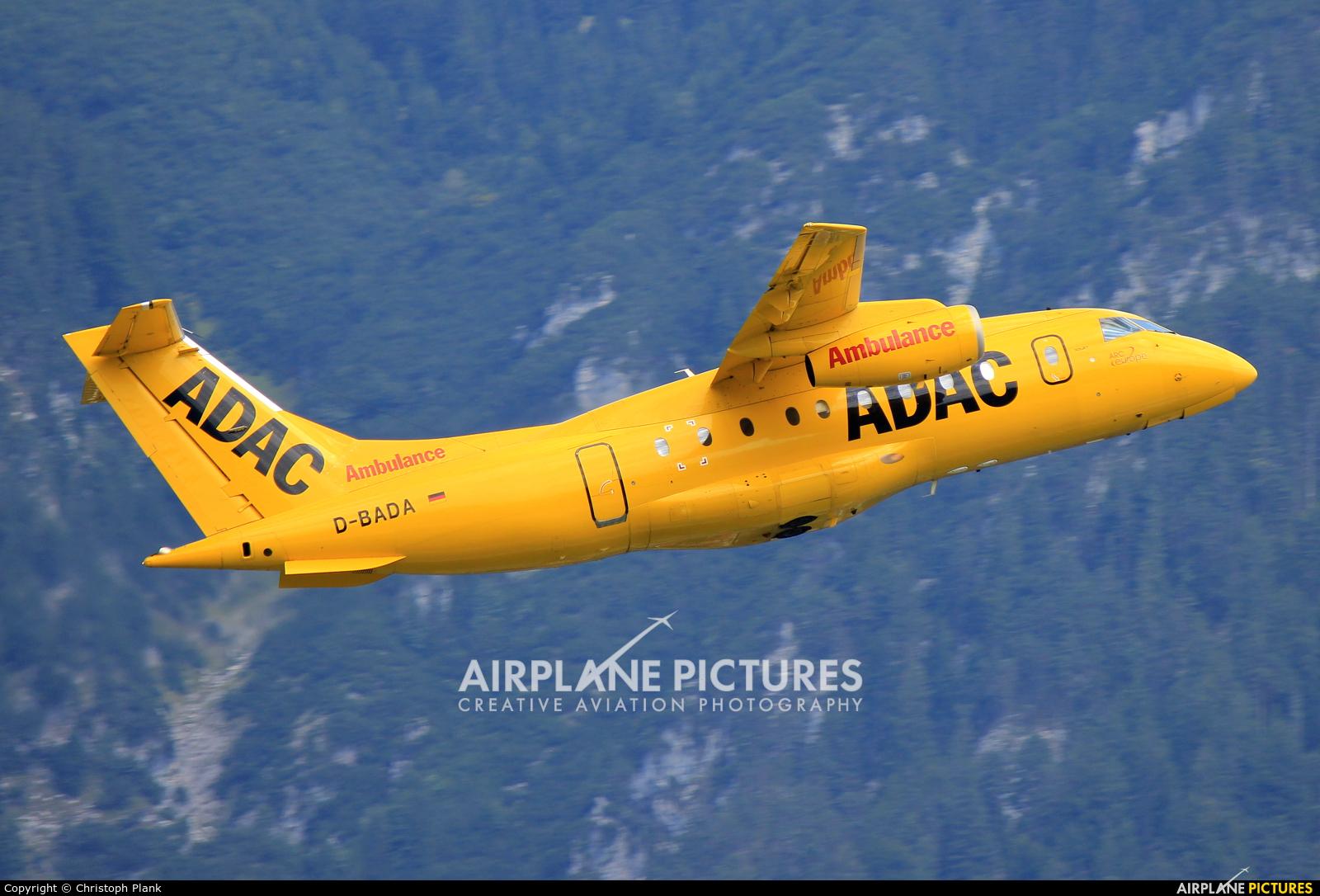 ADAC Luftrettung D-BADA aircraft at Innsbruck