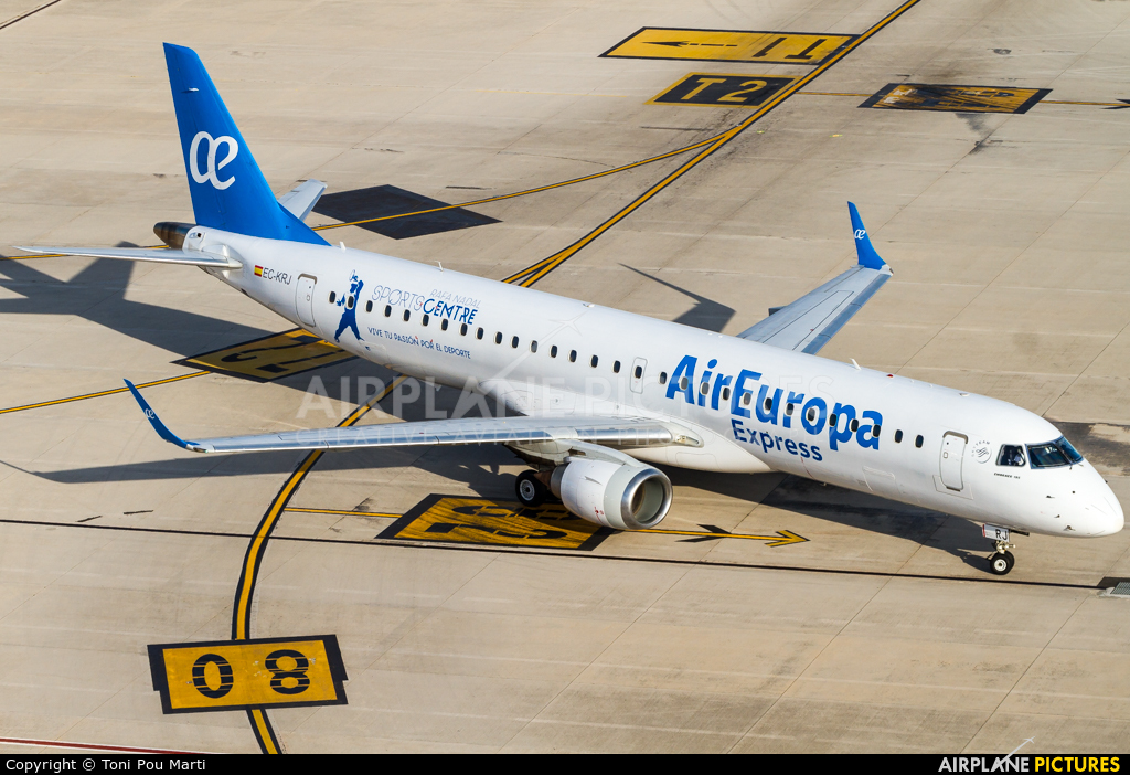 Air Europa Express EC-KRJ aircraft at Palma de Mallorca
