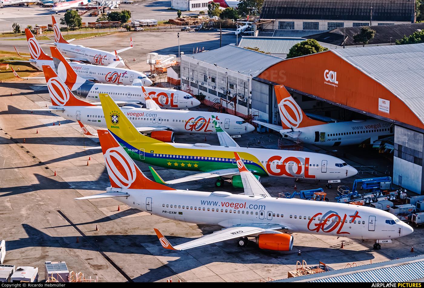 GOL Transportes Aéreos  PR-GXM aircraft at São Paulo - Congonhas