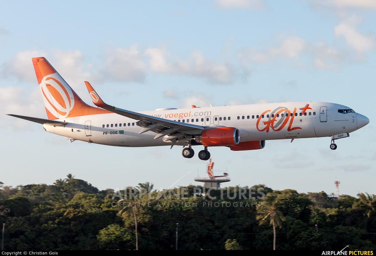 GOL Transportes Aéreos  PR-GGG aircraft at Salvador - Deputado Luis Eduardo Magalhaes