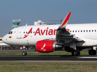 N745AV - Avianca Airbus A320