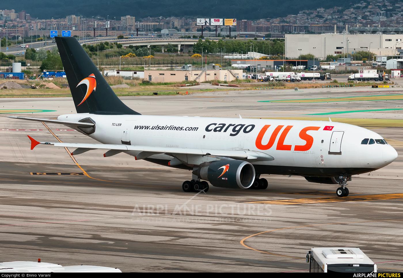 ULS Cargo TC-LER aircraft at Barcelona - El Prat