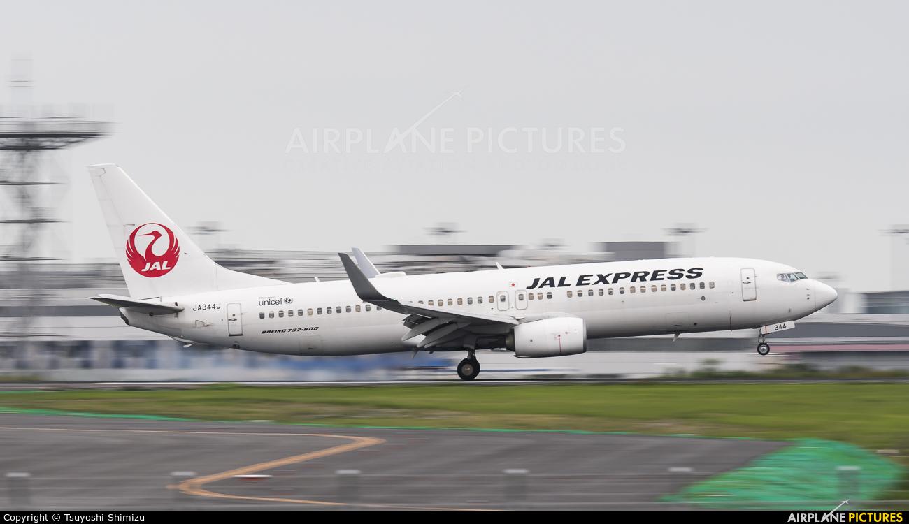 JAL - Japan Airlines JA344J aircraft at Tokyo - Haneda Intl