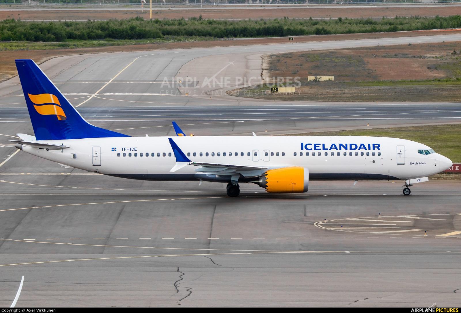 Icelandair TF-ICE aircraft at Helsinki - Vantaa