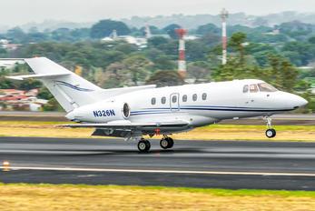 N326N - Private Hawker Beechcraft 800