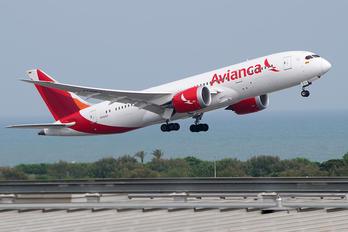 N792AV - Avianca Boeing 787-8 Dreamliner