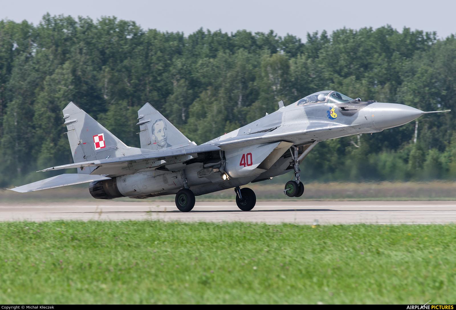Poland - Air Force 40 aircraft at Mińsk Mazowiecki