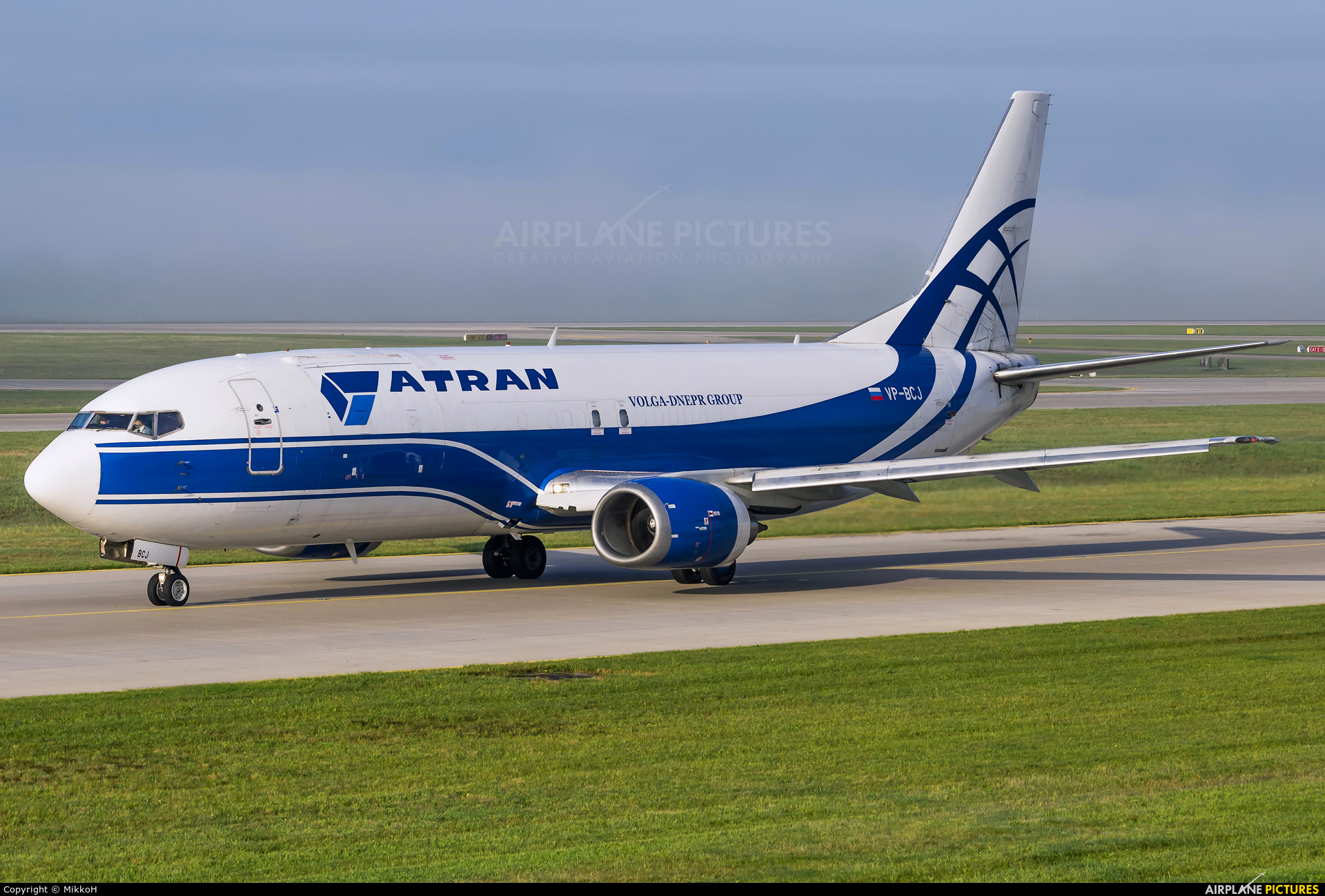 Atran VP-BCJ aircraft at Munich