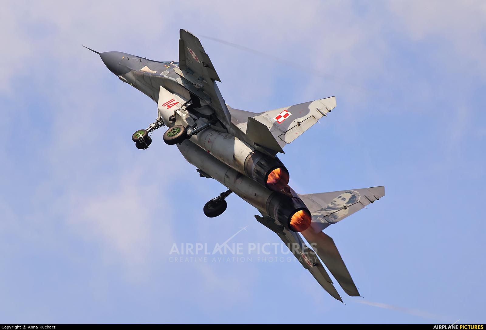 Poland - Air Force 114 aircraft at Mińsk Mazowiecki