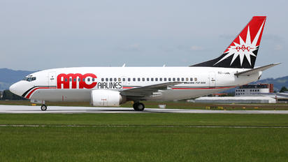 SU-GBL - AMC Airlines Boeing 737-500