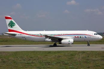 OD-MRM - MEA - Middle East Airlines Airbus A320