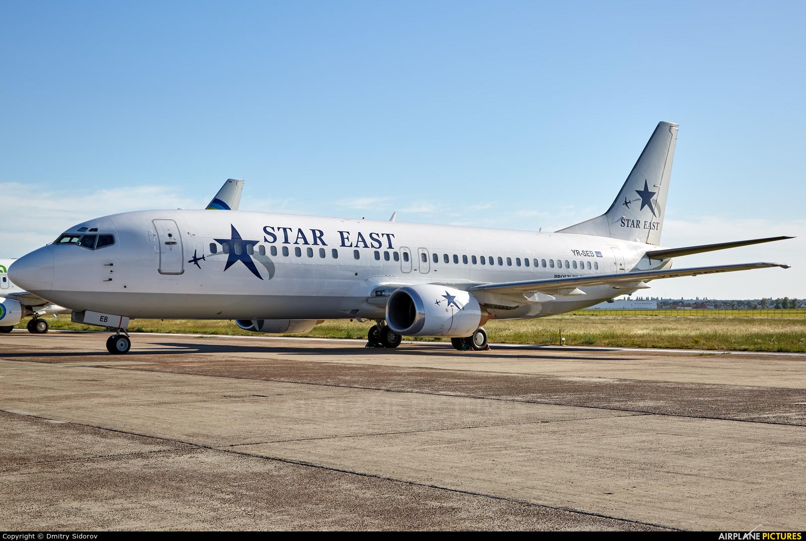 Star East Airlines YR-SEB aircraft at Kiev - Borispol