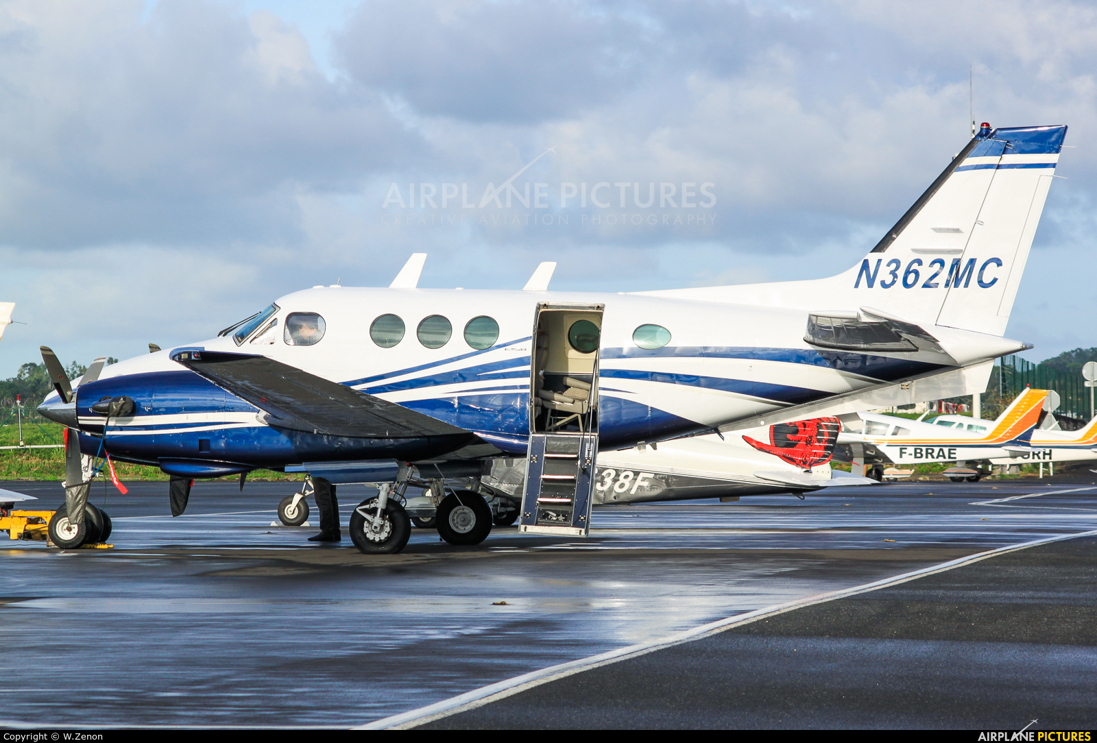 Private N362MC aircraft at Guadeloupe - Pointe-à-Pitre