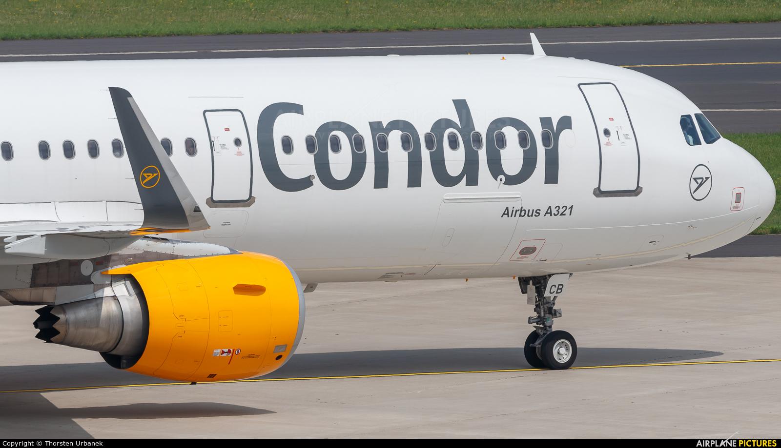 Condor D-ATCB aircraft at Düsseldorf