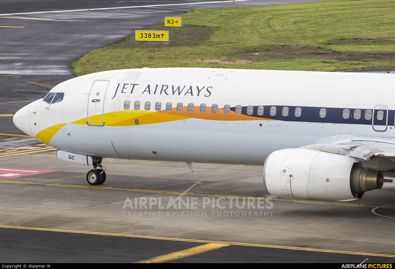 Jet Airways VT-JGC aircraft at Mumbai - Chhatrapati Shivaji Intl