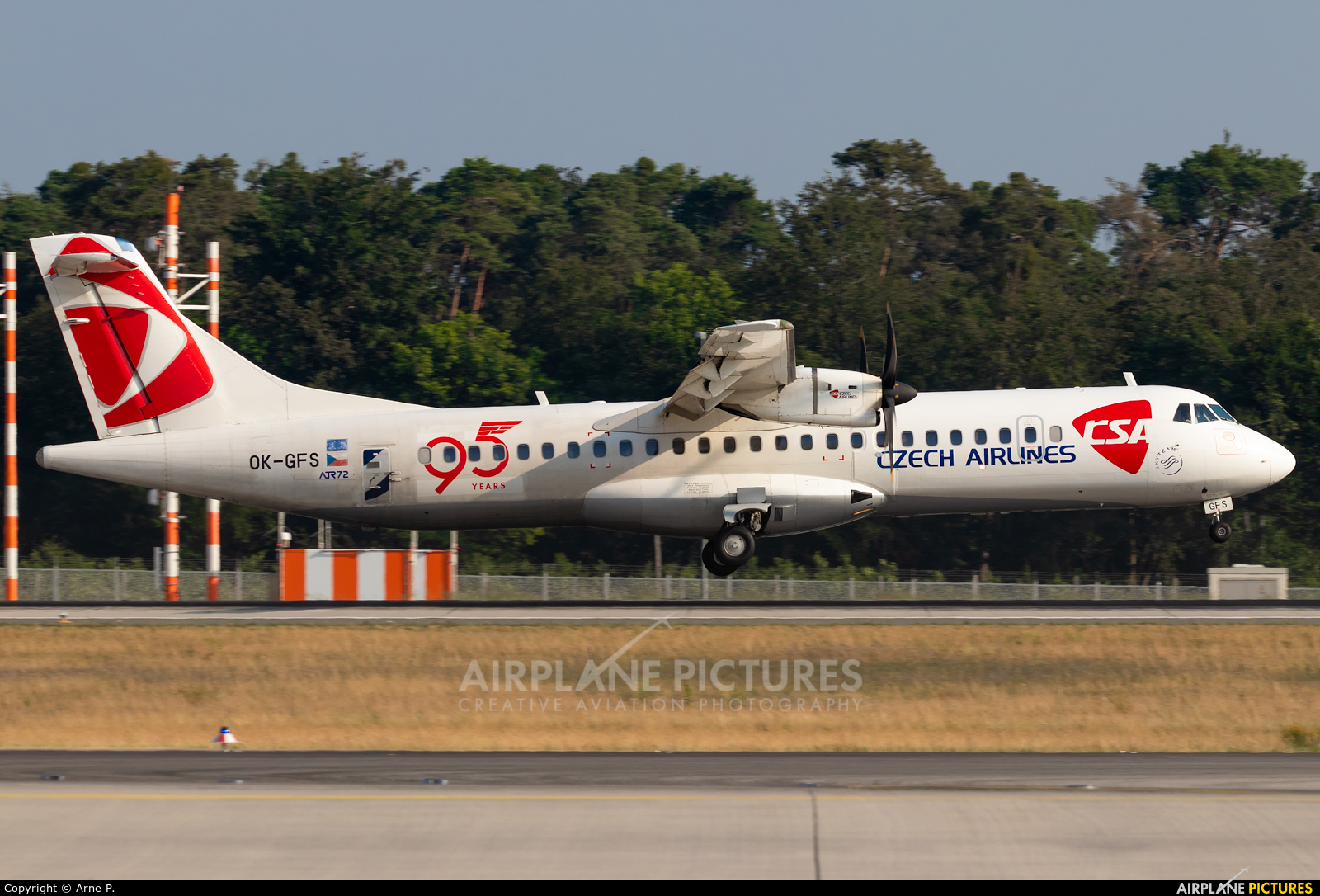 CSA - Czech Airlines OK-GFS aircraft at Frankfurt