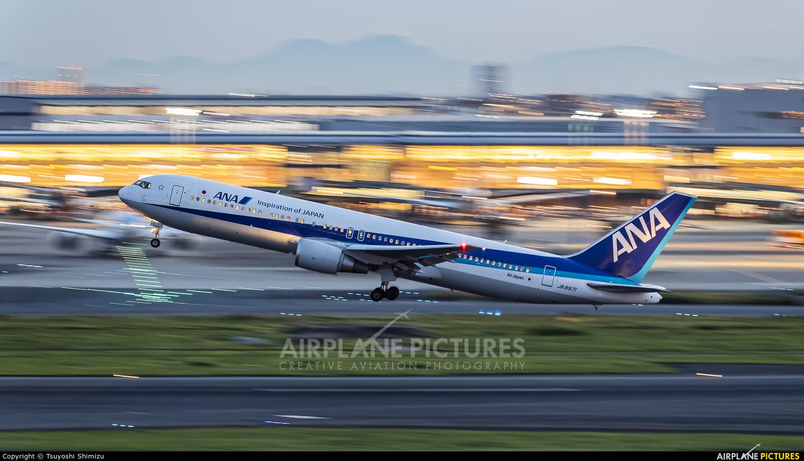 ANA - All Nippon Airways JA8971 aircraft at Tokyo - Haneda Intl