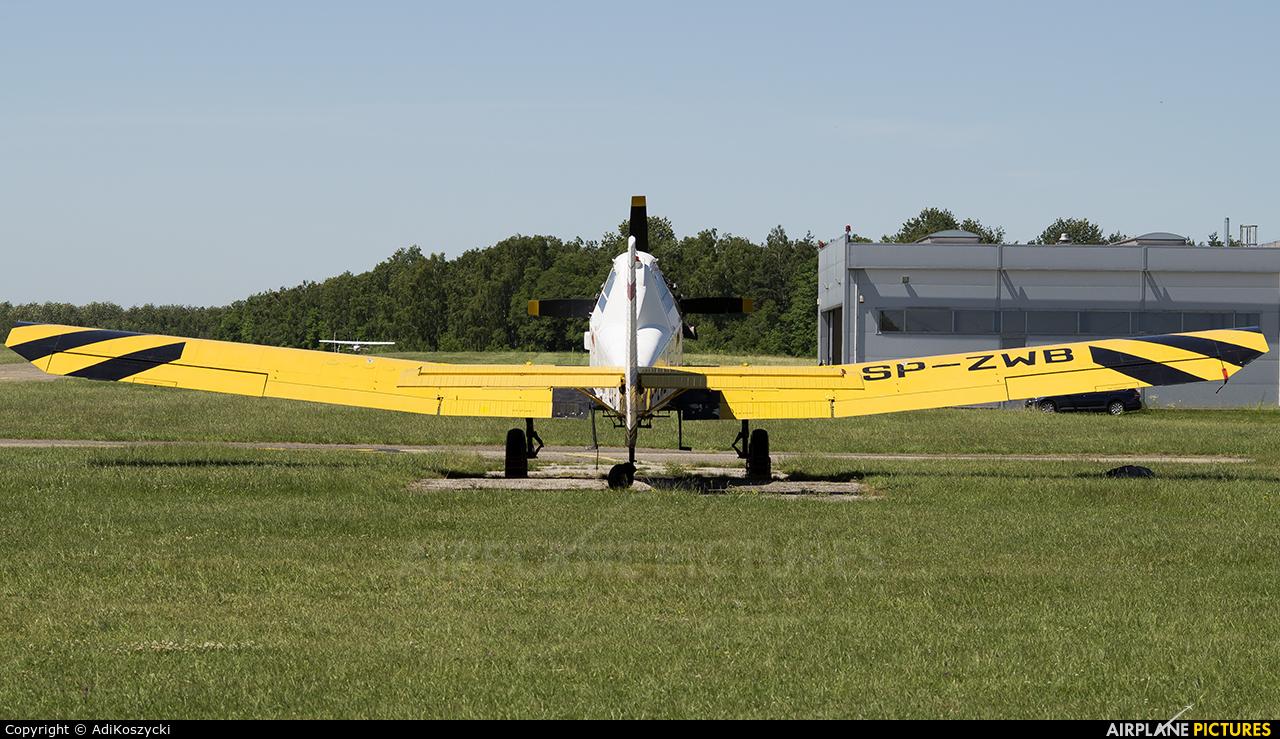 EADS - Agroaviation Services SP-ZWB aircraft at Czestochowa - Rudniki