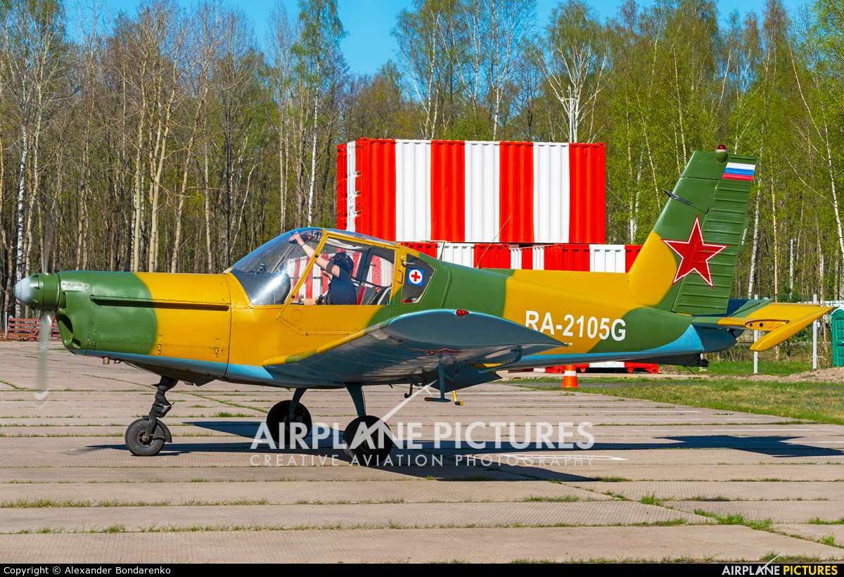 Private RA-2105G aircraft at Off Airport - Russia